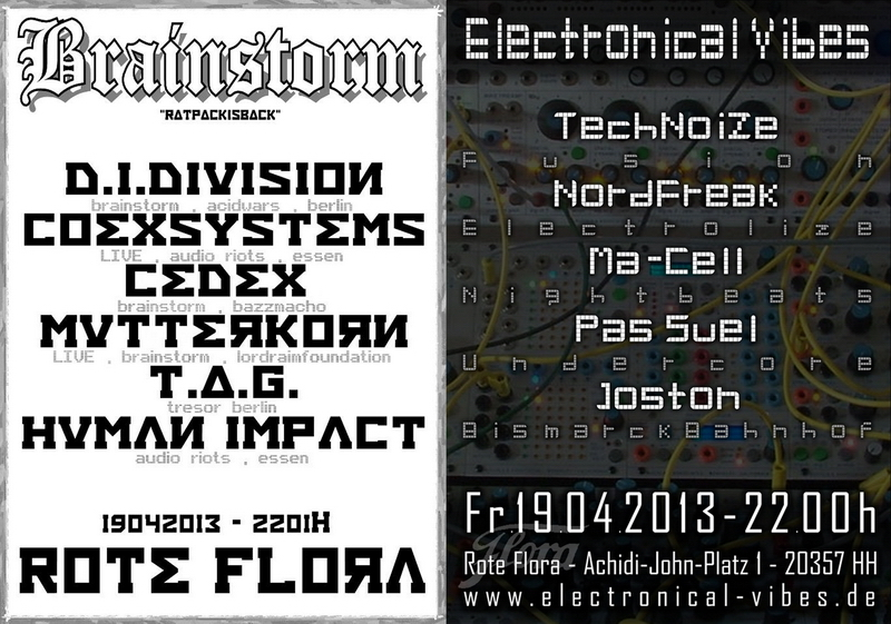 2013-04-19 - electronical vibes flyer club